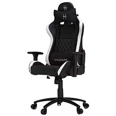 HHGears XL 500 Series Gaming Chair Black & White