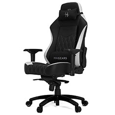 HHGears XL 800 Series Gaming Chair Black & White
