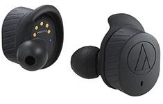 Audio Technica ATH-CKR7TW True Wireless In-Ear Headphones Black