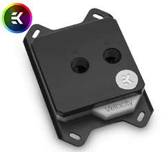 EK Velocity D-RGB CPU Waterblock AMD Nickel Acetal