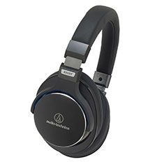 Audio-Technica ATH-MSR7 Over-ear Headphones Black