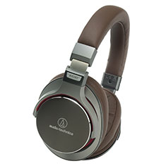Audio-Technica ATH-MSR7 Over-ear Headphones Gunmetal Brown