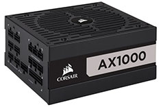Corsair AX1000 Titanium Modular 1000 Watt Power Supply