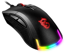 MSI Clutch GM50 RGB Gaming Mouse