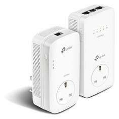 TP-Link AV1300 Gigabit Passthrough Powerline ac Wi-Fi Kit