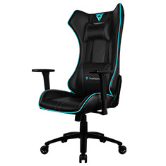 Aerocool ThunderX3 UC5 Gaming Chair Black Cyan