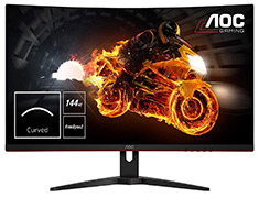 AOC CQ32G1 QHD 144Hz FreeSync Curved 31.5in Monitor