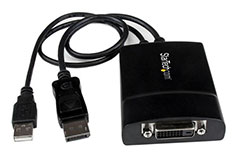 StarTech DisplayPort to DVI-DL Active Video Adapter Converter
