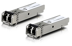 Ubiquiti Transceiver Module SFP to MM Fibre 1 Gbps - 2 Pack