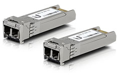 Ubiquiti Transceiver Module SFP+ to MM Fibre 10 Gbps - 2 Pack