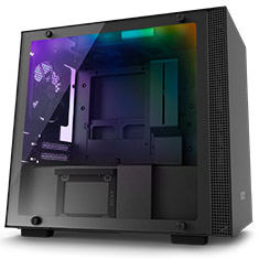 NZXT H200i Smart Mini-ITX Case Black/Black