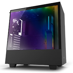 NZXT H500i Mid Tower Case Matte Black