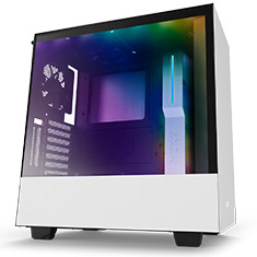 NZXT H500i Mid Tower Case Matte White