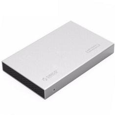Orico 2.5in Aluminum USB3.0 Hard Drive Enclosure Silver