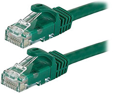 Astrotek Cat 6 Ethernet Cable Green 2m