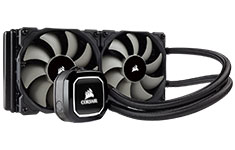 Corsair Hydro Series H100x 240mm Liquid CPU Cooler