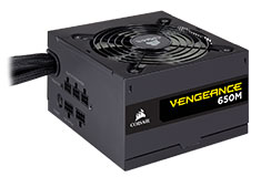 Corsair Vengeance 650M 80 Plus Silver 650 Watt Power Supply