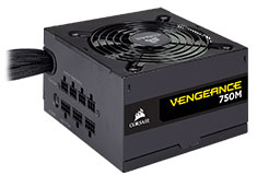 Corsair Vengeance 750M 80 Plus Silver 750 Watt Power Supply