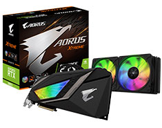 Gigabyte AORUS GeForce RTX 2080 Ti Extreme Waterforce 11G