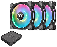 Thermaltake Riing Duo 14 RGB Radiator 140mm Fan 3 Pack