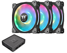 Thermaltake Riing Duo 12 RGB Radiator 120mm Fan 3 Pack