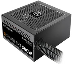 Thermaltake Smart BX1 80 Plus Bronze Power Supply 550W