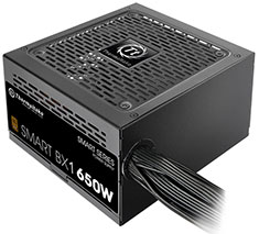 Thermaltake Smart BX1 80 Plus Bronze Power Supply 650W