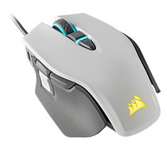 Corsair M65 Pro Elite Gaming Mouse White