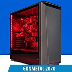 PCCG Gunmetal 2070 Gaming System