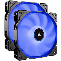 Corsair Air Series AF140 Quiet 140mm Fan Blue LED 2 Pack