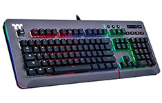 Thermaltake Level 20 RGB Titanium Mech Keyboard MX Blue