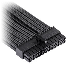 Corsair Premium Sleeved ATX 24-Pin Cable Black