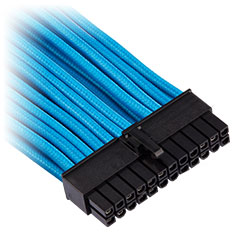 Corsair Premium Sleeved ATX 24-Pin Cable Blue