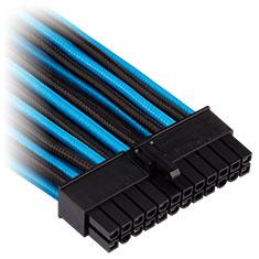 Corsair Premium Sleeved ATX 24-Pin Cable Blue/Black