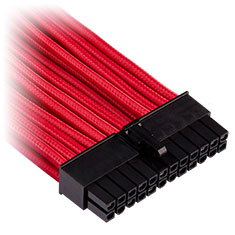 Corsair Premium Sleeved ATX 24-Pin Cable Red