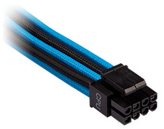 Corsair Premium Sleeved EPS12V/ATX12V Cables Blue/Black