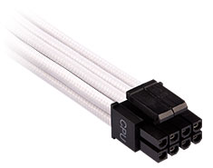 Corsair Premium Sleeved EPS12V/ATX12V Cables White