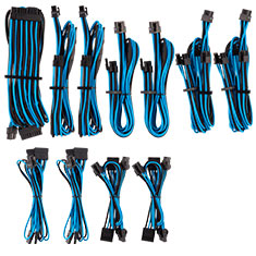 Corsair Premium Sleeved PSU Cables Pro Kit Blue/Black