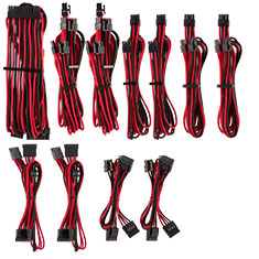 Corsair Premium Sleeved PSU Cables Pro Kit Red/Black