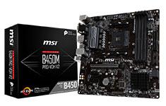 MSI B450M Pro-VDH V2 Motherboard