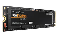 Samsung 970 EVO Plus NVMe SSD 2TB