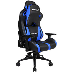 Anda Seat AD12XL-03 Gaming Chair XL Headrest Black Blue