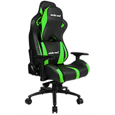 Anda Seat AD12XL-03 Gaming Chair XL Headrest Black Green