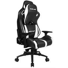 Anda Seat AD12XL-03 Gaming Chair XL Headrest Black White