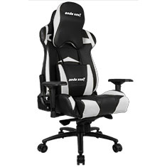 Anda Seat AD3XL Gaming Chair Black White