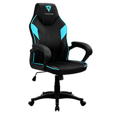 Aerocool ThunderX3 EC1 Gaming Chair Black Cyan