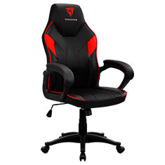 Aerocool ThunderX3 EC1 Gaming Chair Black Red