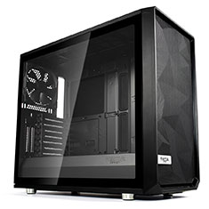 Fractal Design Meshify S2 Black Tempered Glass