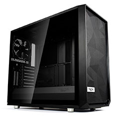 Fractal Design Meshify S2 Black Tempered Glass Dark