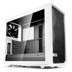 Fractal Design Meshify S2 White Tempered Glass
